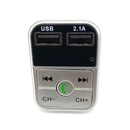 Auto-FM-Transmitter-Car-FM-Transmitter-Zilver-2
