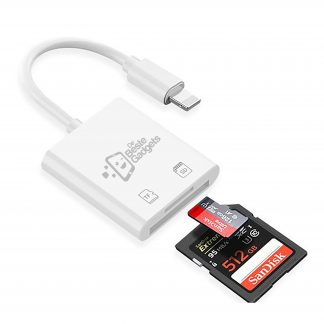 De Beste Gadgets De Beste Gadgets Apple iPhone - iPad Cardreader met Lightning aansluiting 1