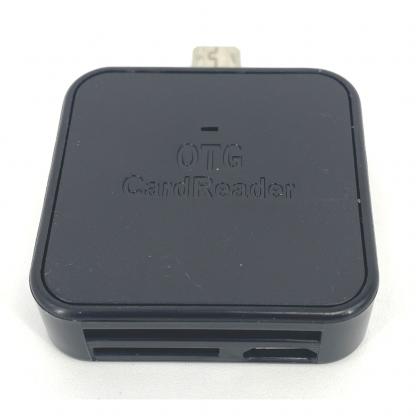 Micro USB Cardreader SD kaart - Mico SD kaart gehugenkaartlezer zwart 2